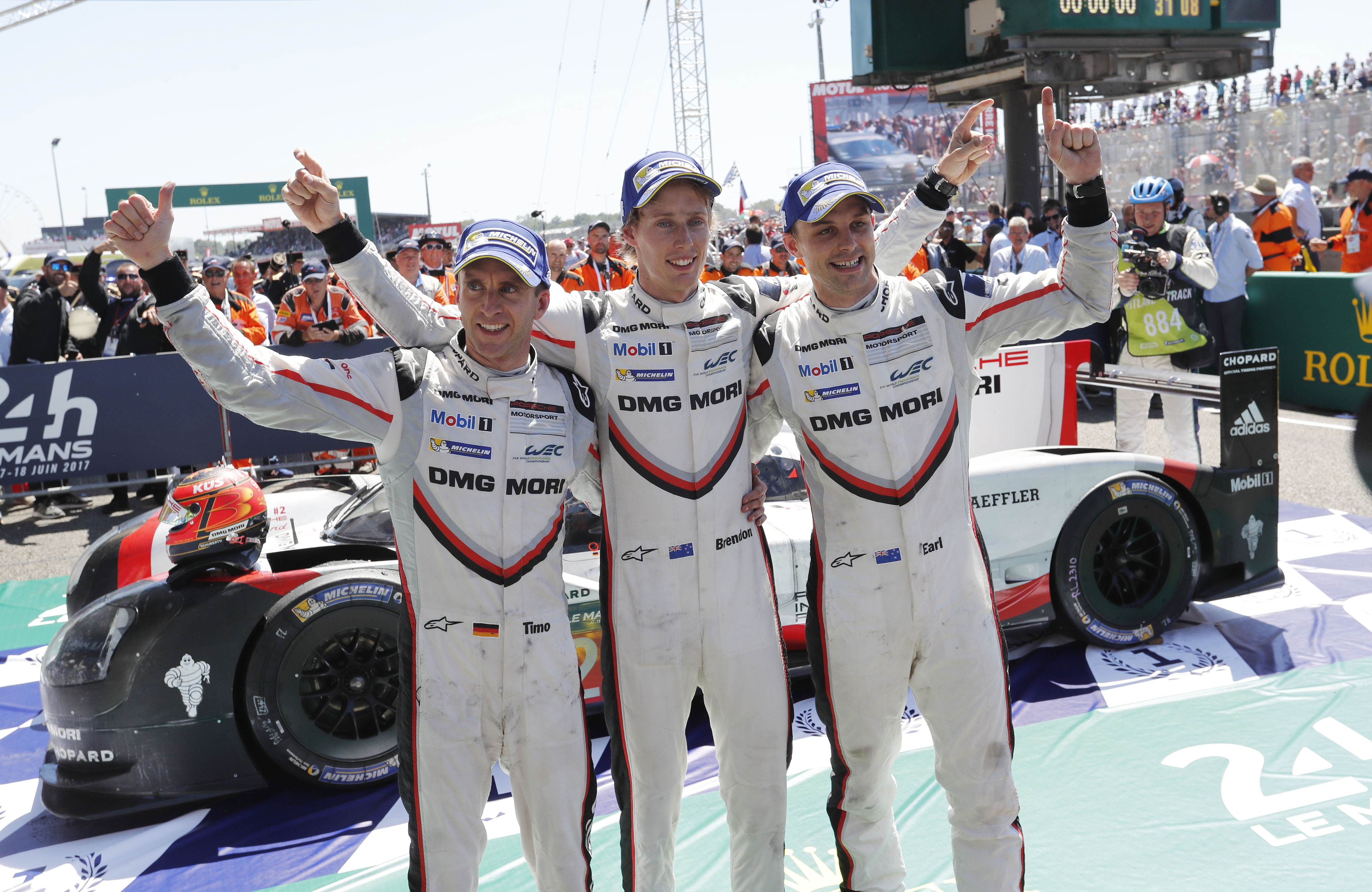 19th overall win in dramatic final phase at Le Mans